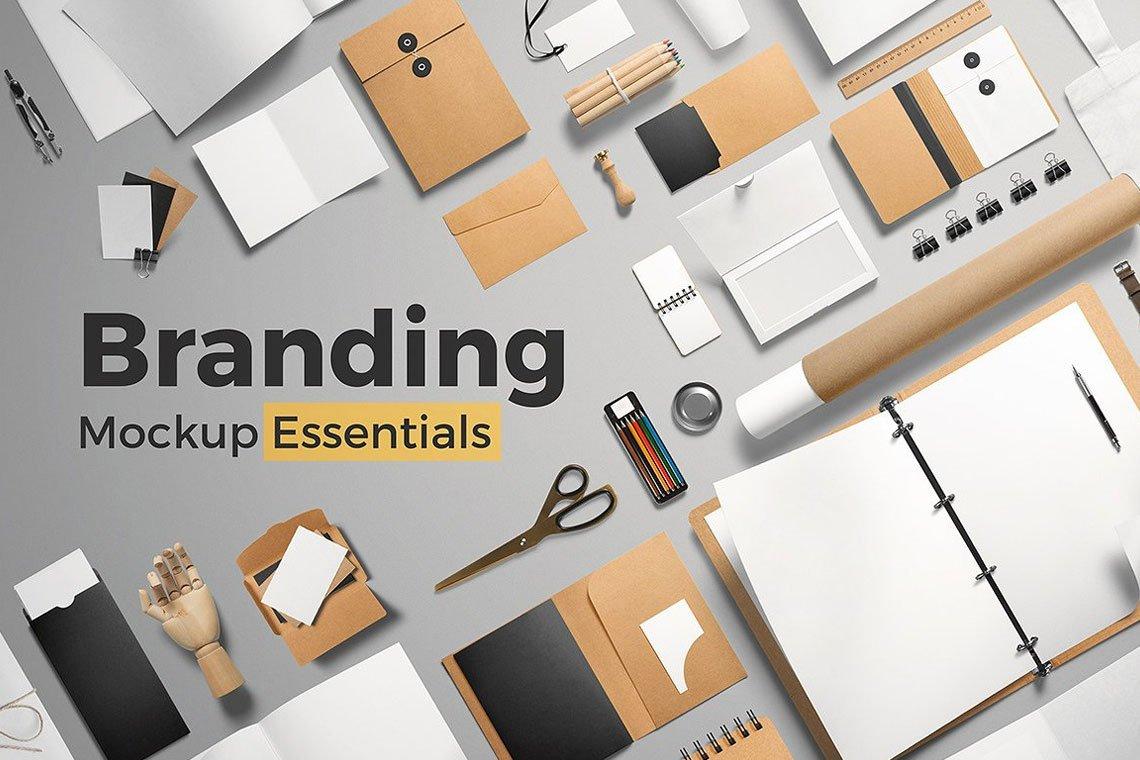 Branding Mockup Essentials by Mockup Cloud