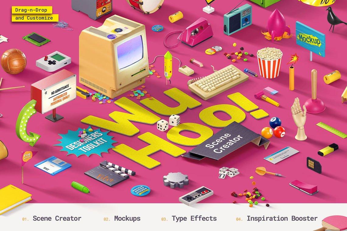 WuHoo! Designer's Toolkit by LStore