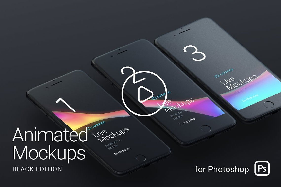 Looped Animated Mockups by LStore
