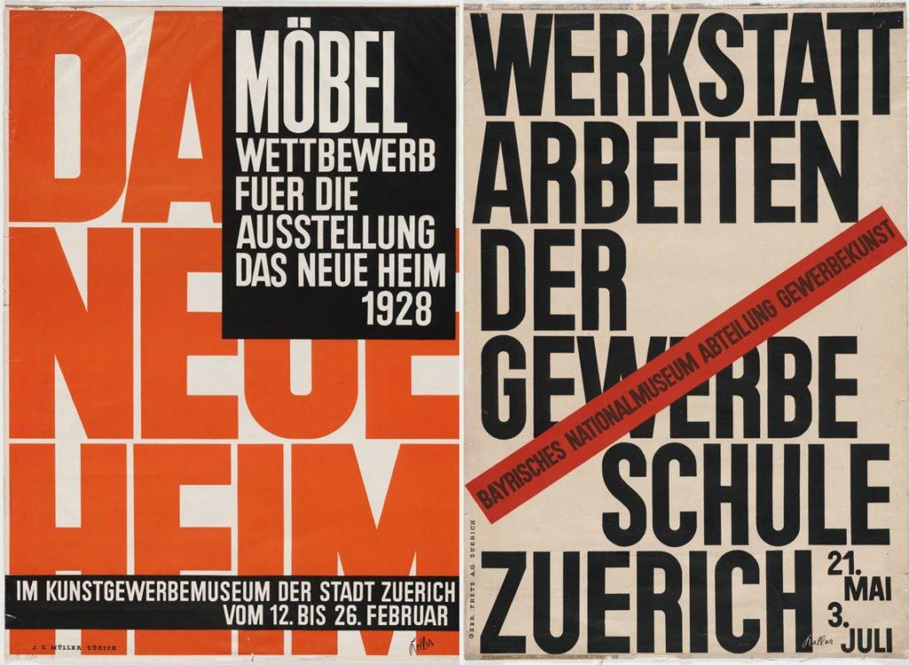Designs by Ernst Keller