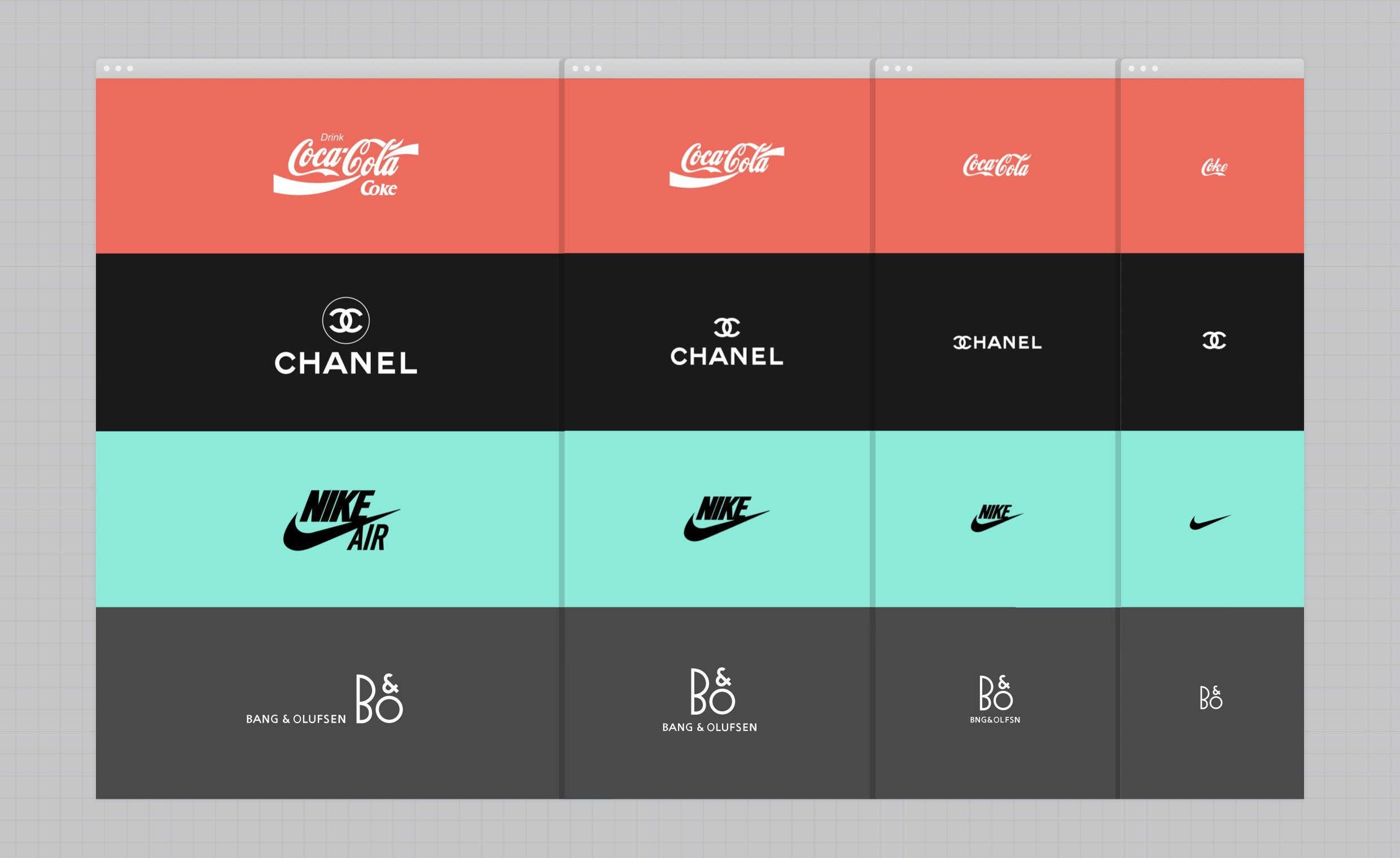 Responsive logos by Joe Harrison