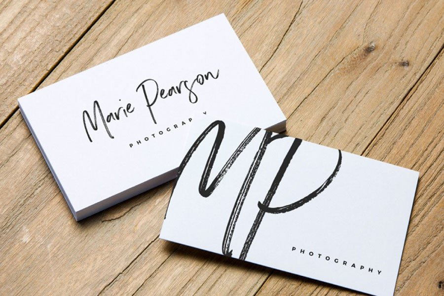 2 Free Business Card Mockups
