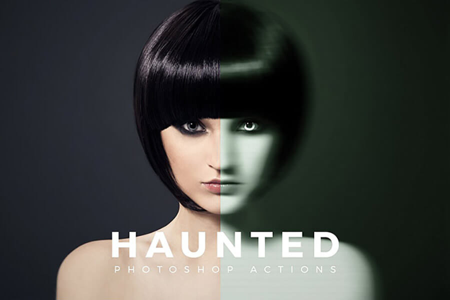 Haunted Photoshop Action