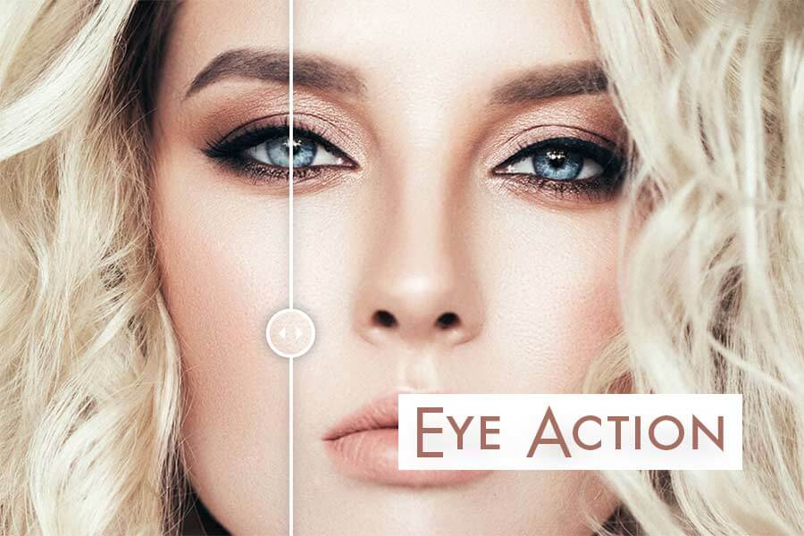 Color Pop Free Photoshop Eye Action