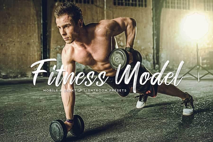 Fitness Model Lightroom Presets