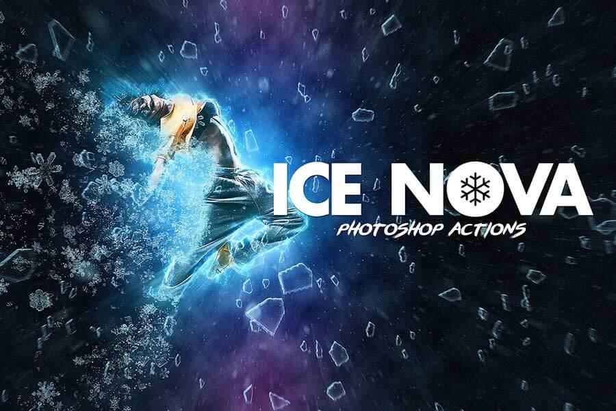 Ice Nova - Photoshop Action