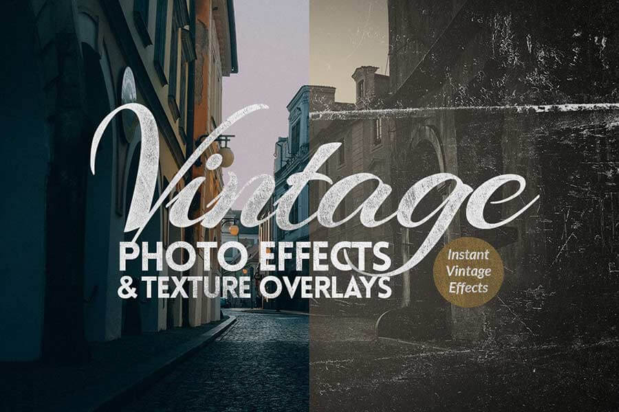 Instant Vintage Photoshop Effects