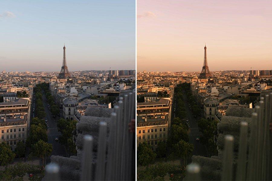 Paris Travel Photoshop Actions