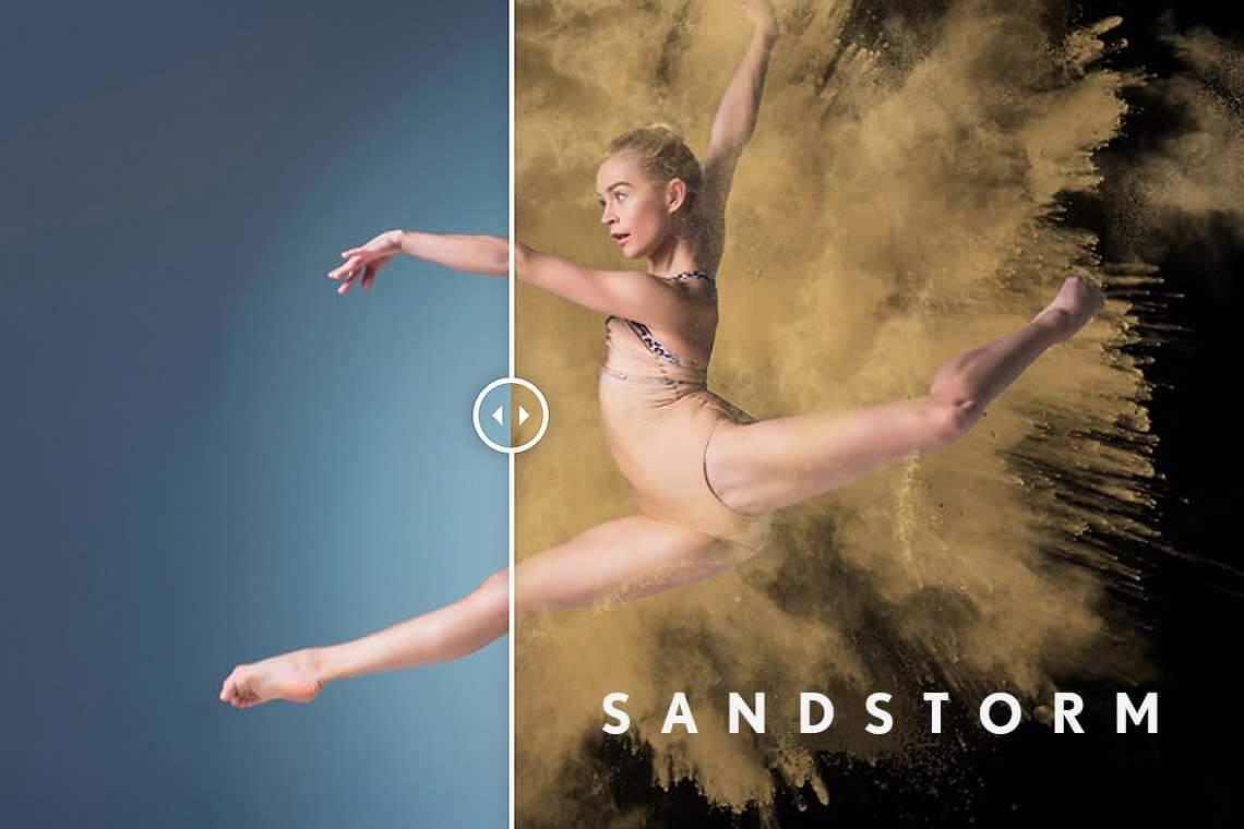 Sandstorm Free Photoshop Actions