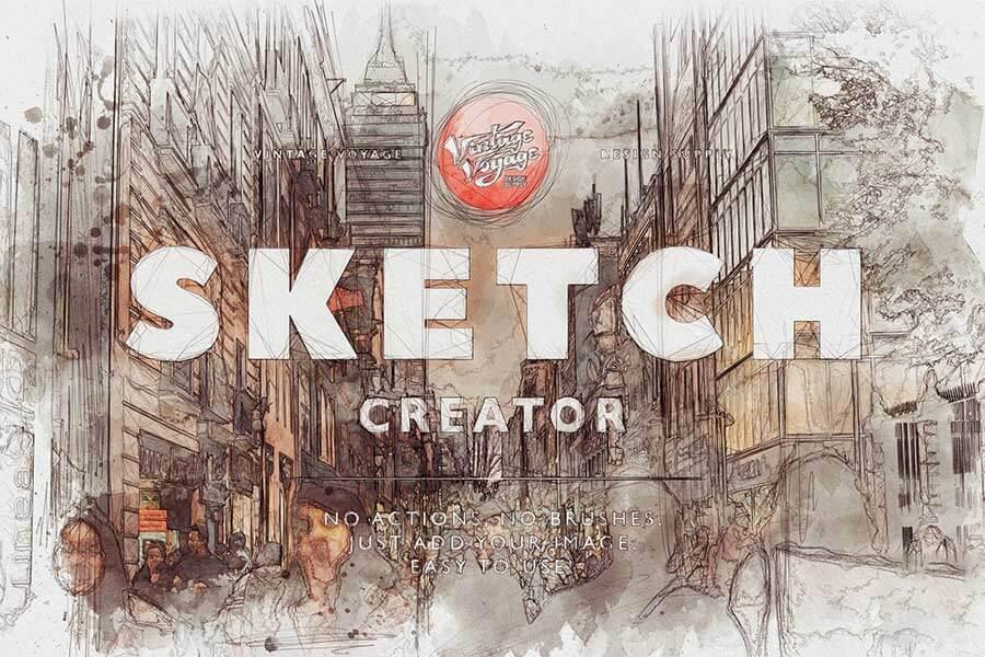 Sketch Creator Action