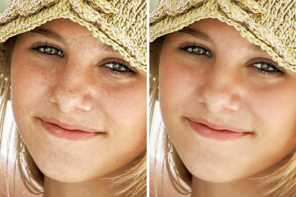 Skin Tone Photoshop Action