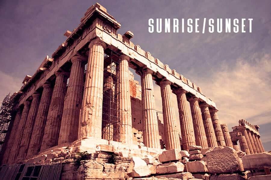 Sunrise/Sunset Free Photoshop Action