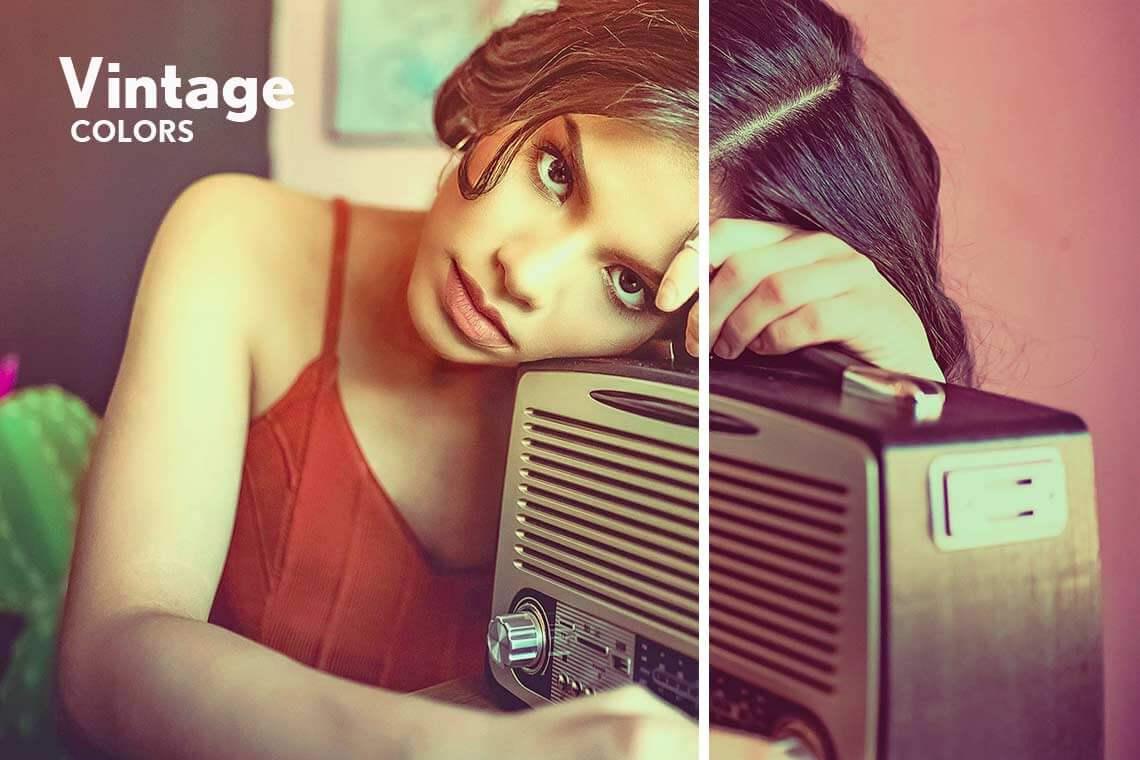 Vintage Colors Photoshop Action