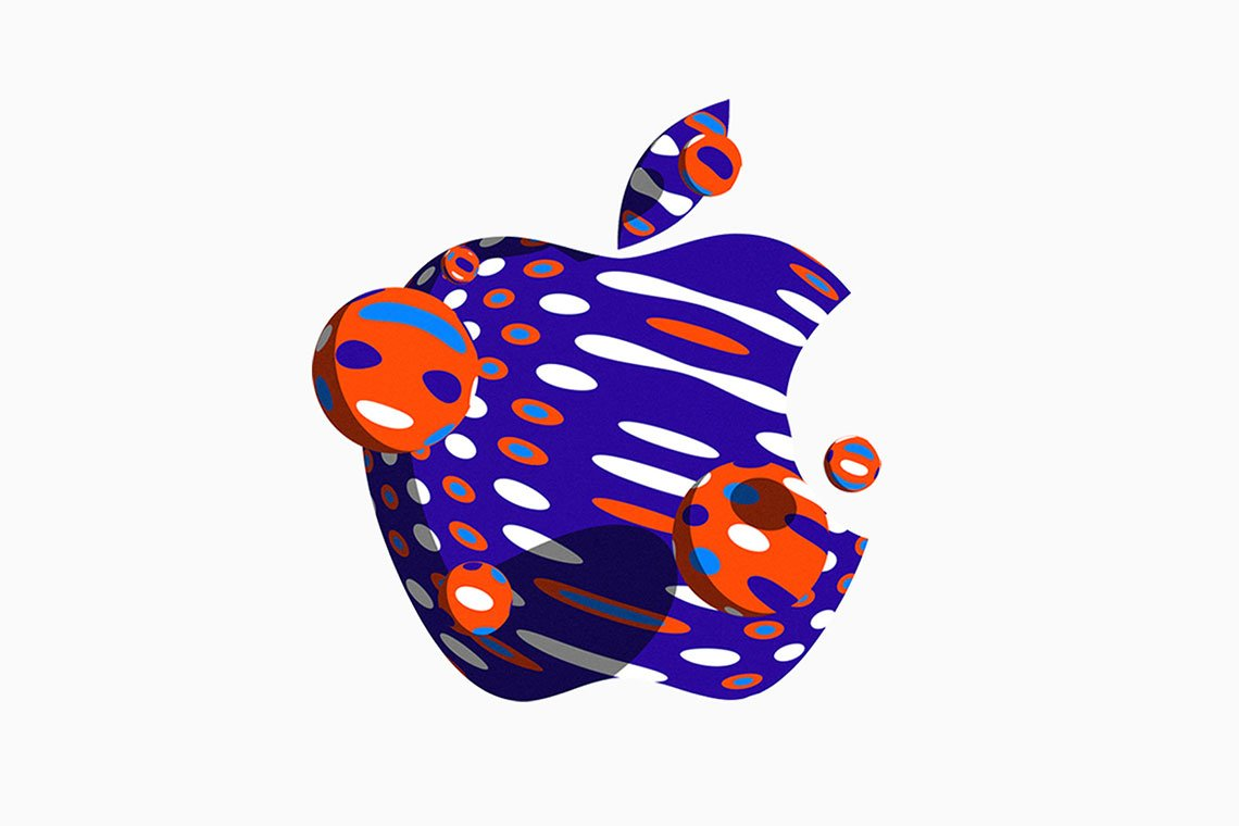 Custom Apple logo designs