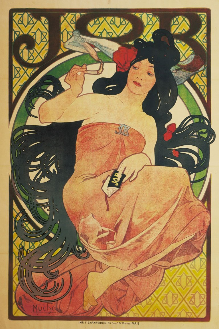 Alphonse Mucha. Job. 1897 (moma.org)