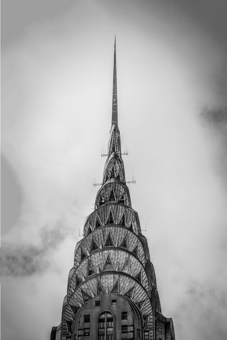 The Chrysler Building built in 1930