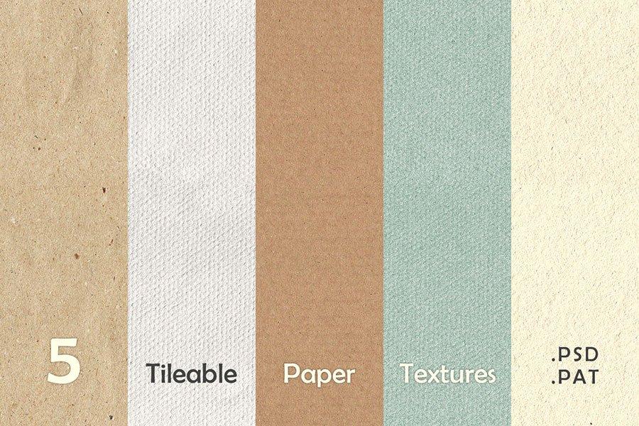 Old Paper Textures Set