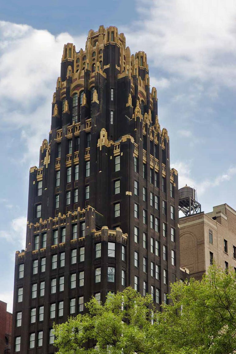 The American Radiator Building built in 1924