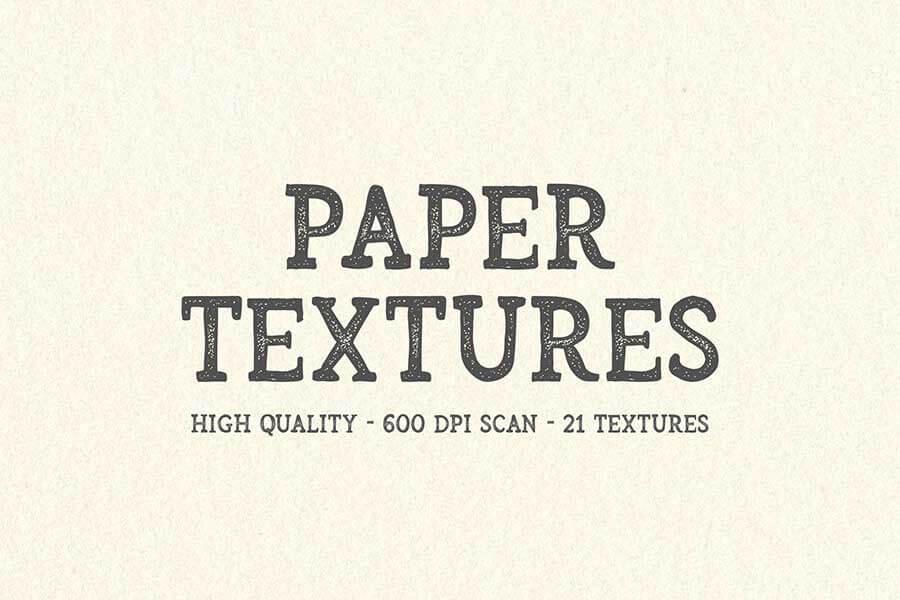 21 Paper Textures