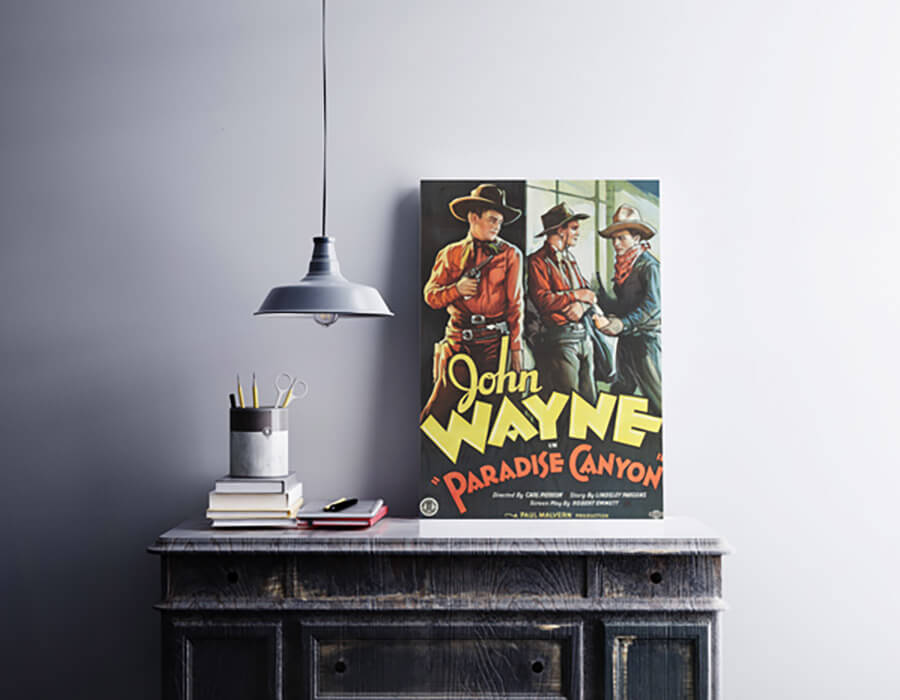 A1 Poster on the Desk Mockup