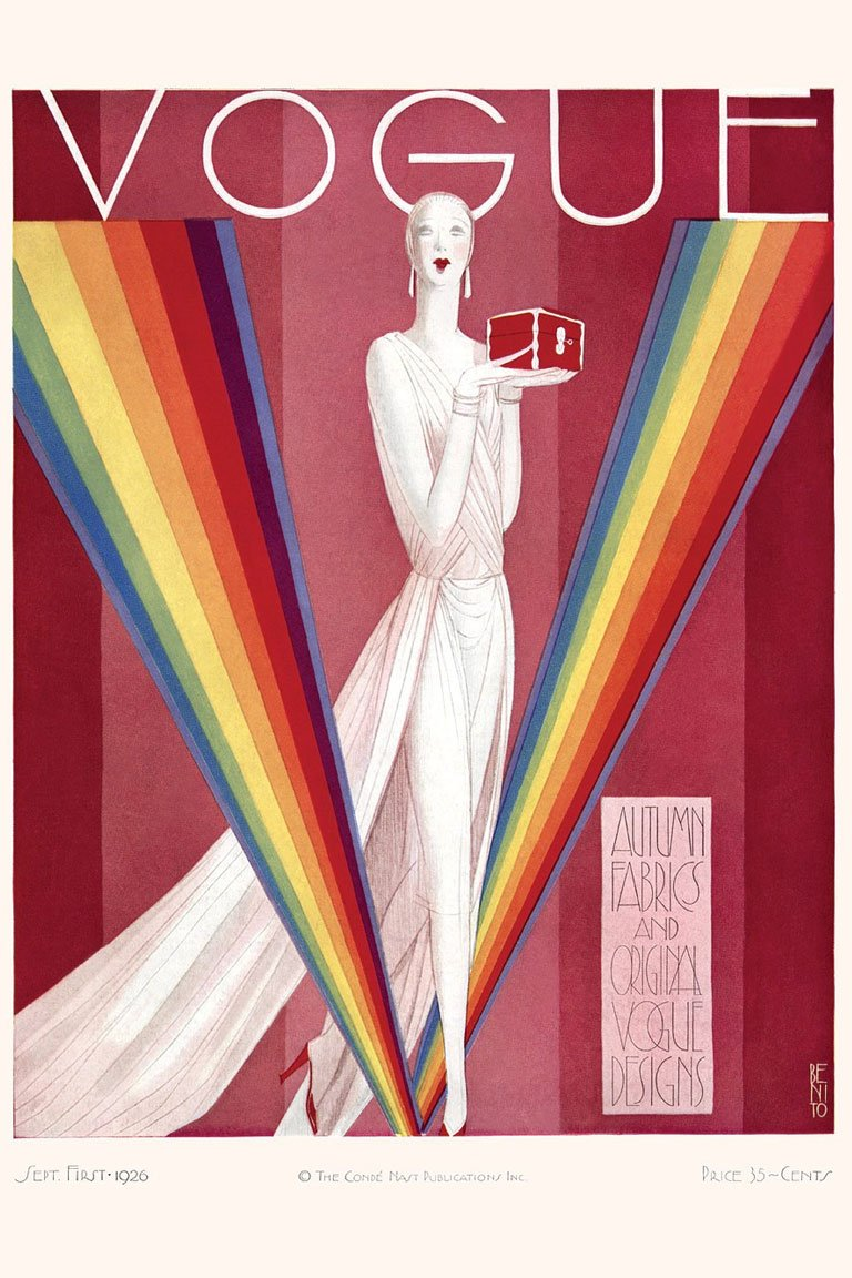 Сover for September 1926 issue of Vogue — vogue.com