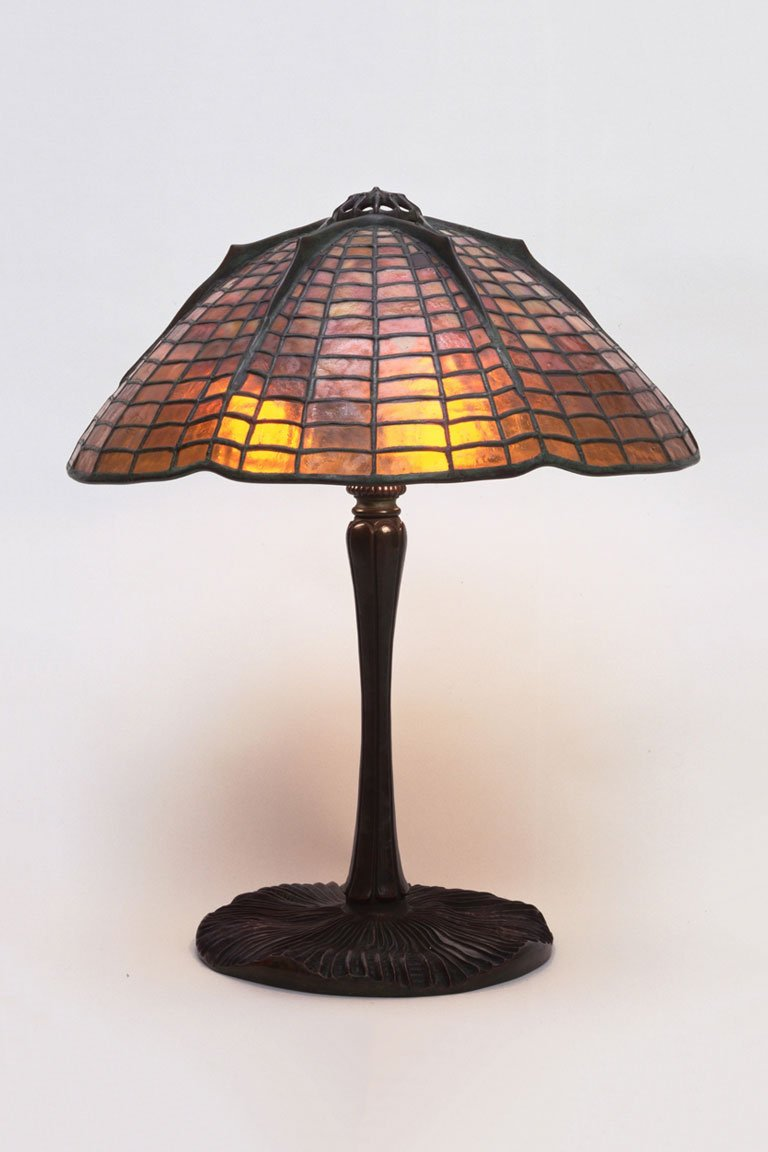 Louis Comfort Tiffany. Table Lamp. c. 1900 (moma.org)
