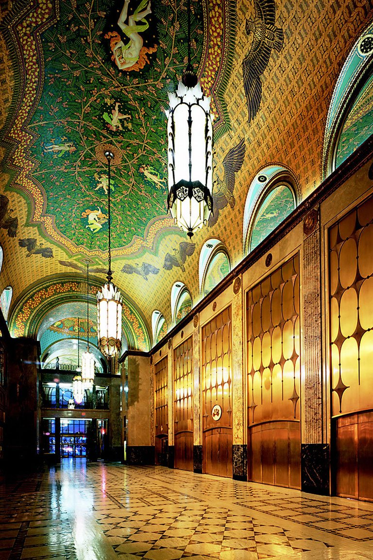 The Fisher Building built in 1928