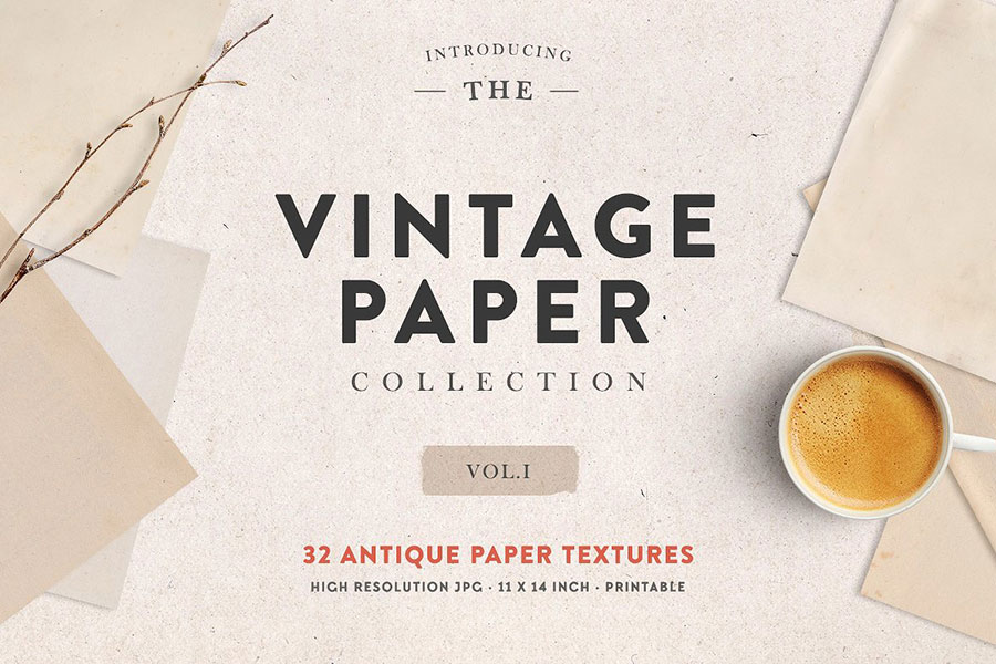The Vintage Paper Collection Vol. 01