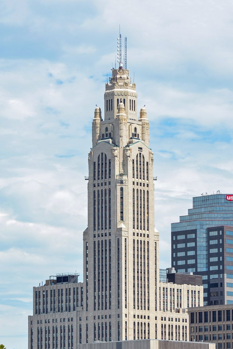 The LeVeque Tower built in 1927