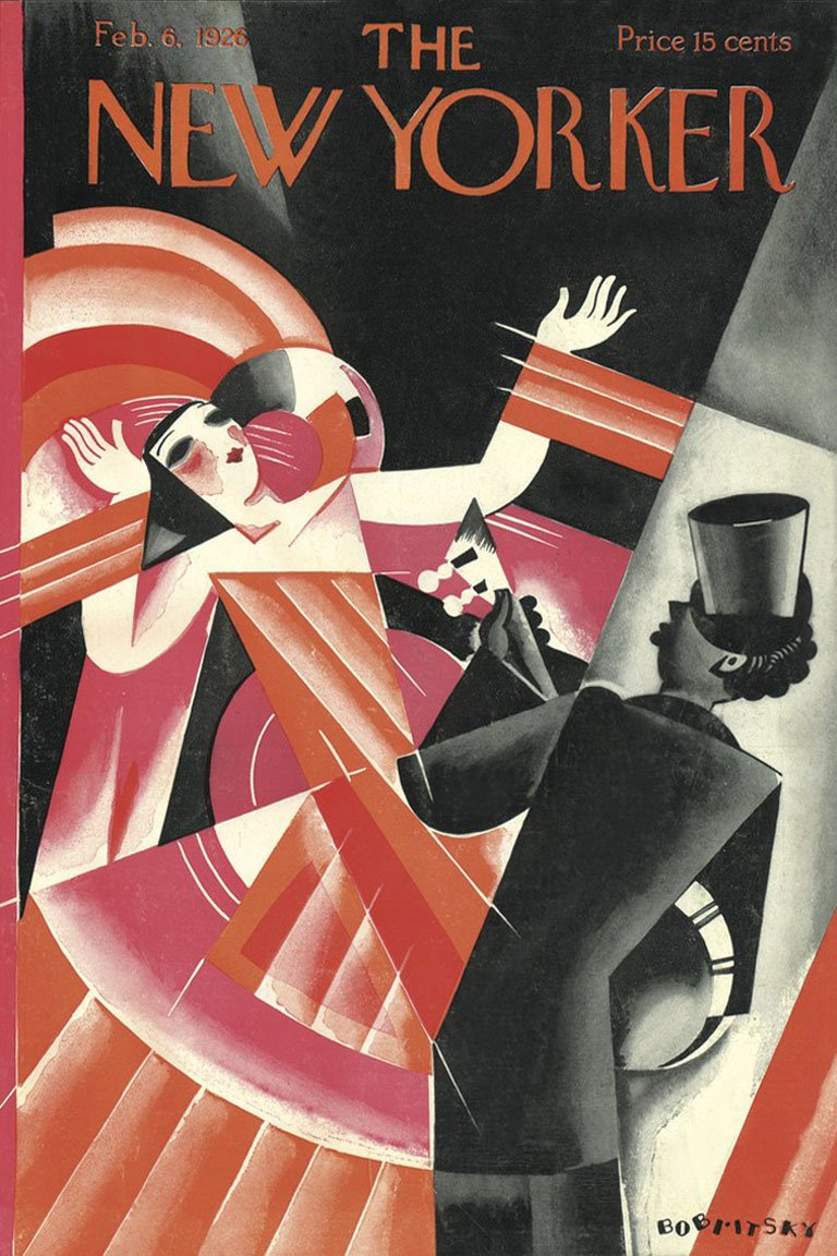 Сover for February 1926 issue of The New Yorker — newyorker.com