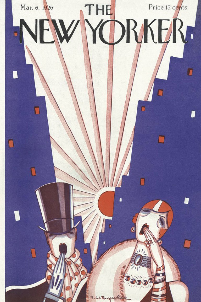 Сover for March 1926 issue of The New Yorker — newyorker.com