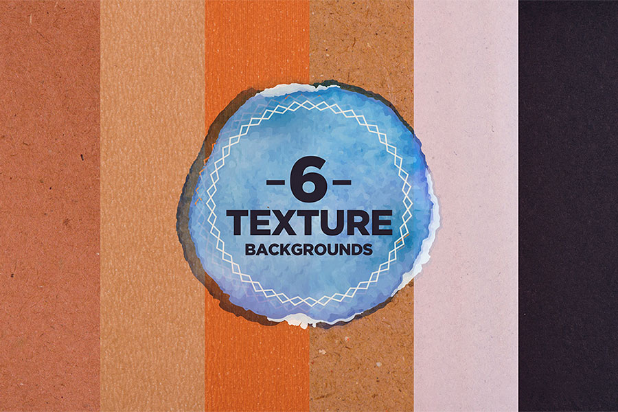 Six Free Paper Texture Backgrounds