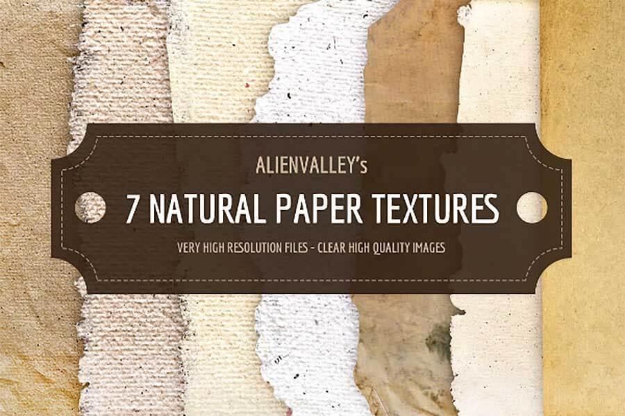 7 Natural Vintage Backgrounds