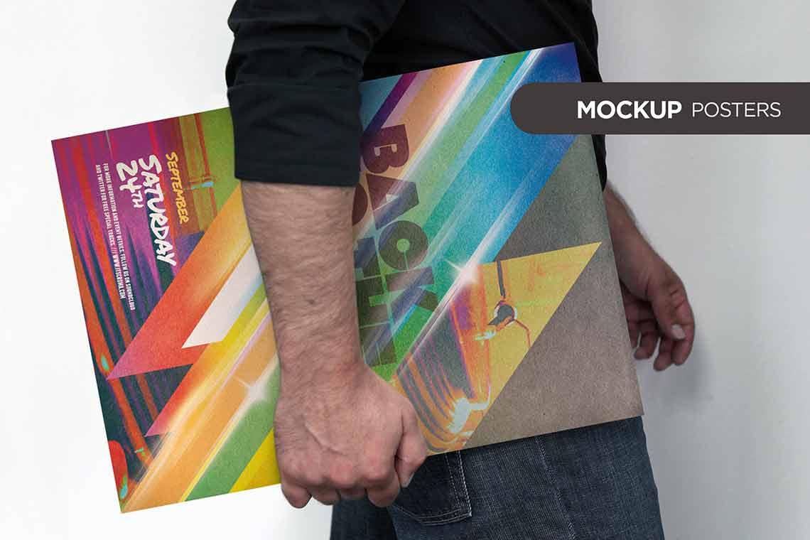 Basic Poster Mockup Kit