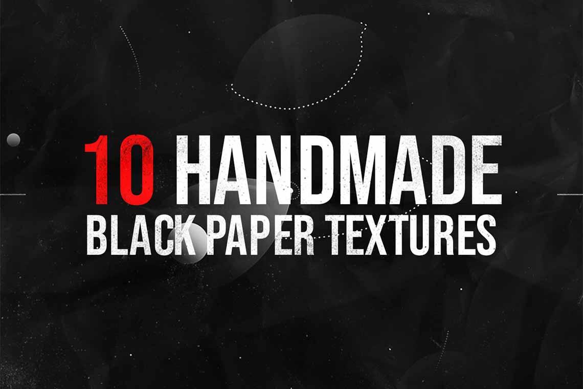 Black Paper Texture Kit