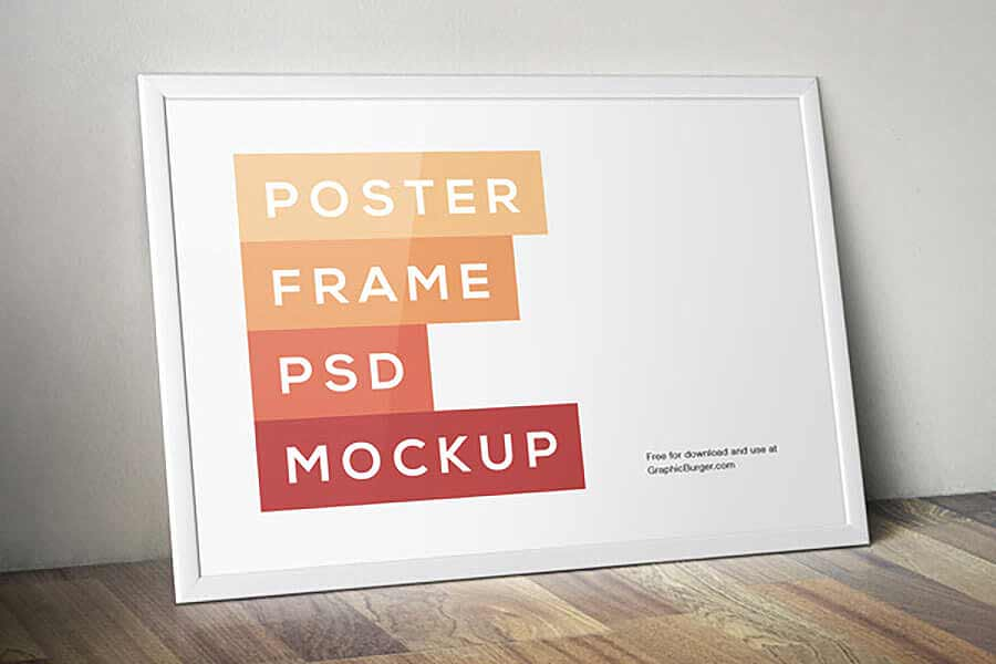 Classic Poster Frame Mockup