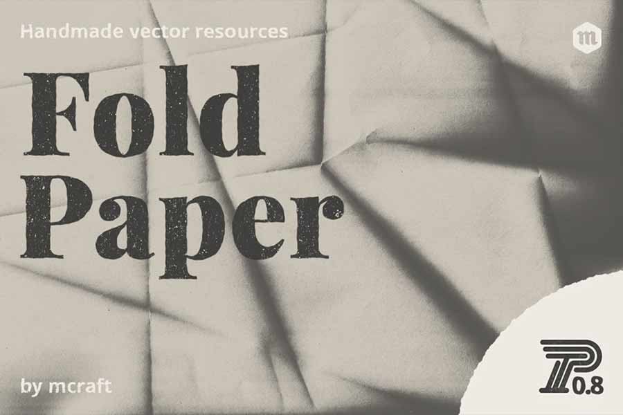 Fold Paper Texture Pack