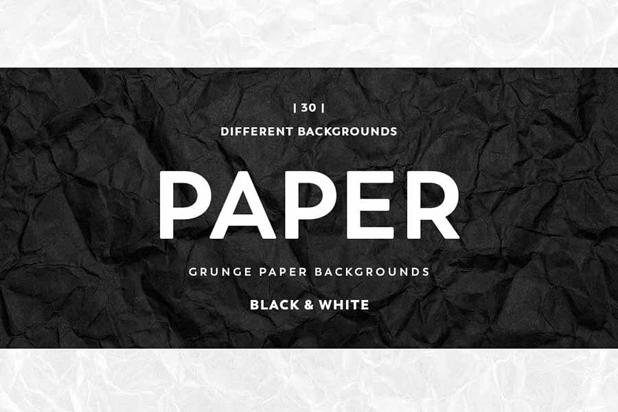 Grunge Crumpled Paper Texture
