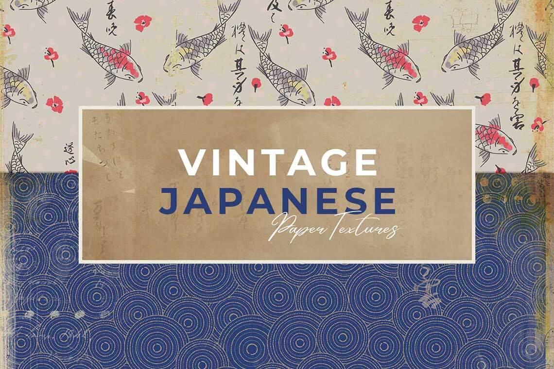 Japanese Vintage Paper Texture