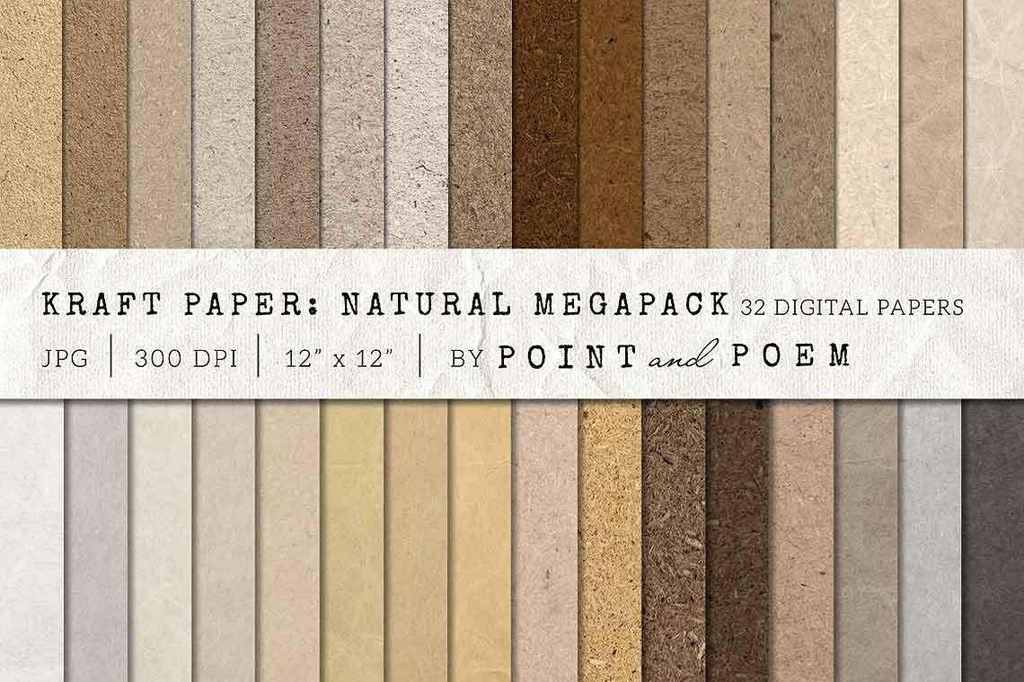 Kraft Paper Texture Pack