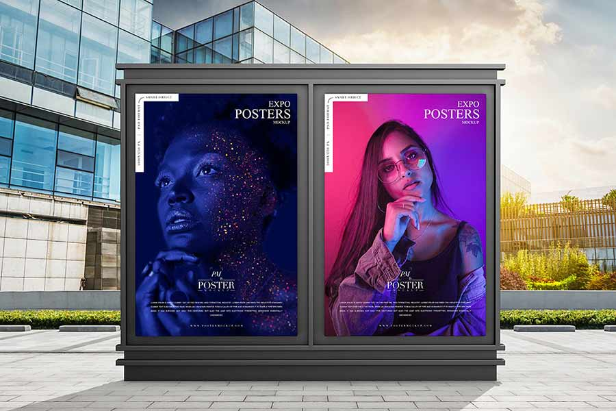 Poster Outdoor Mockup