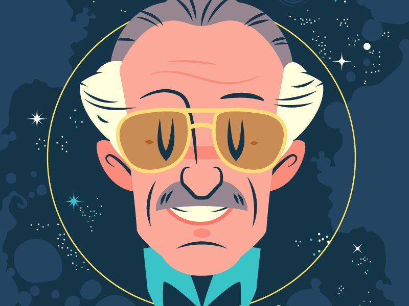 RIP Stan by Dennis Salvatier via Dribbble