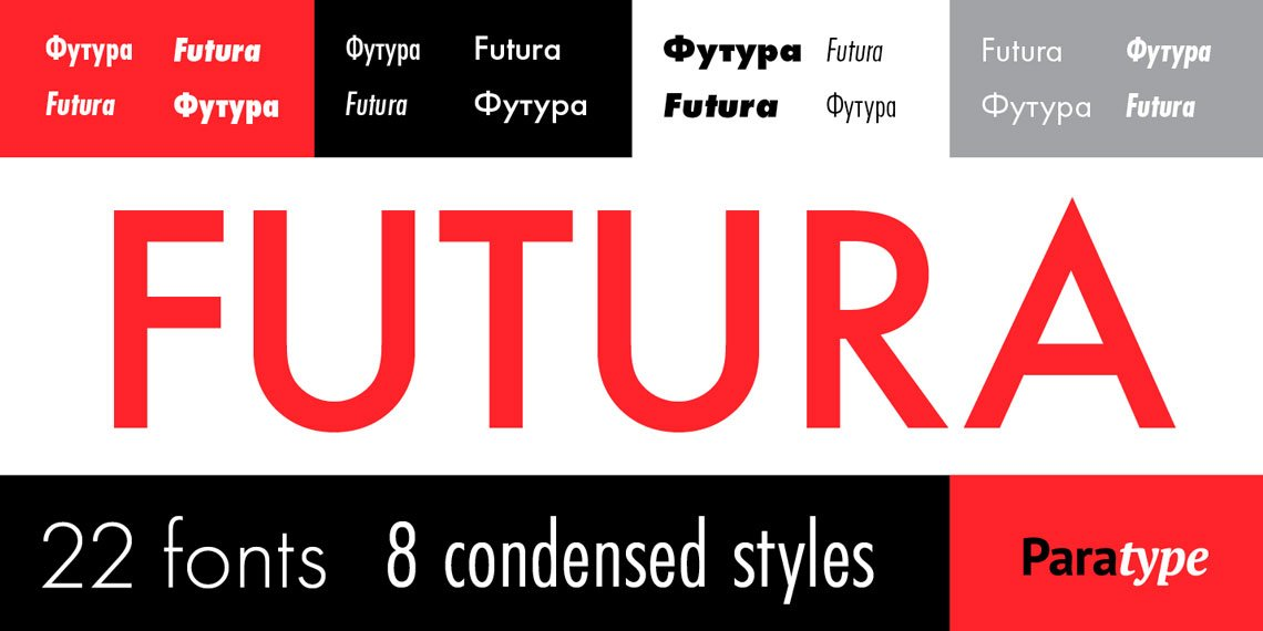 Futura® PT by ParaType