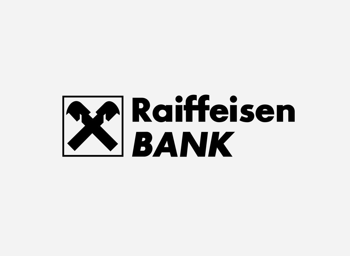 Raiffeisen Bank logo via seeklogo.com