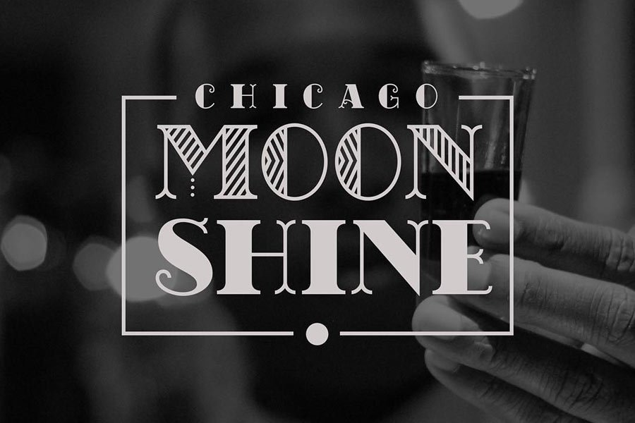 Chicago Moonshine Font