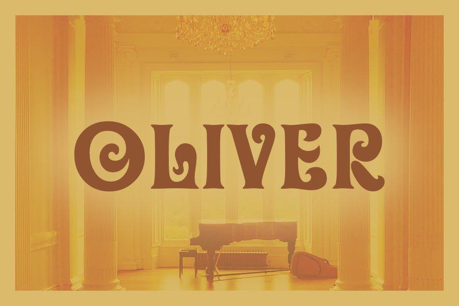 Oliver Retro Font