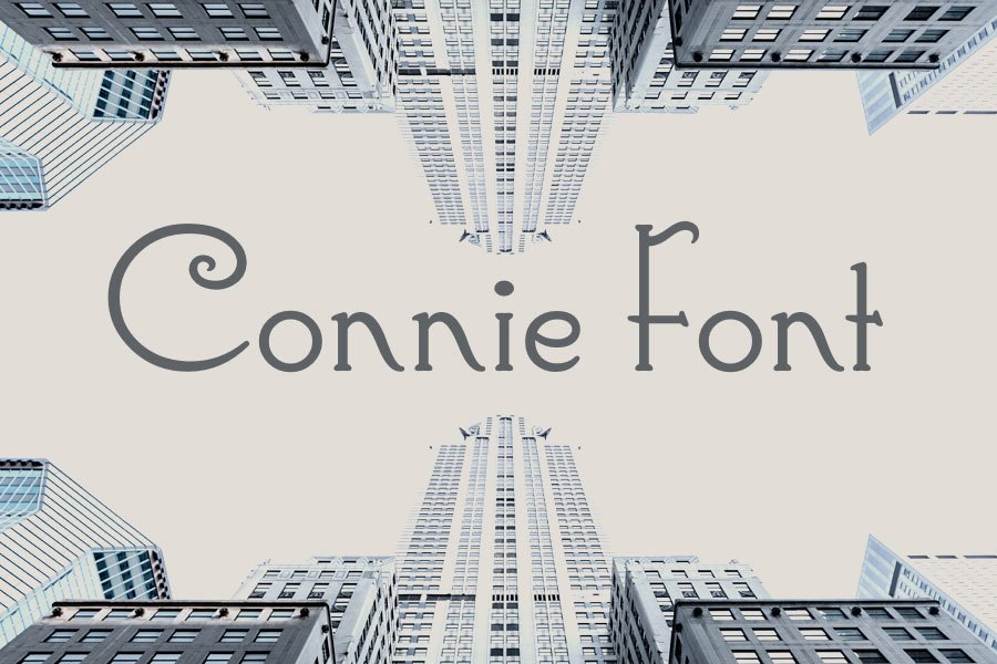 Connie font
