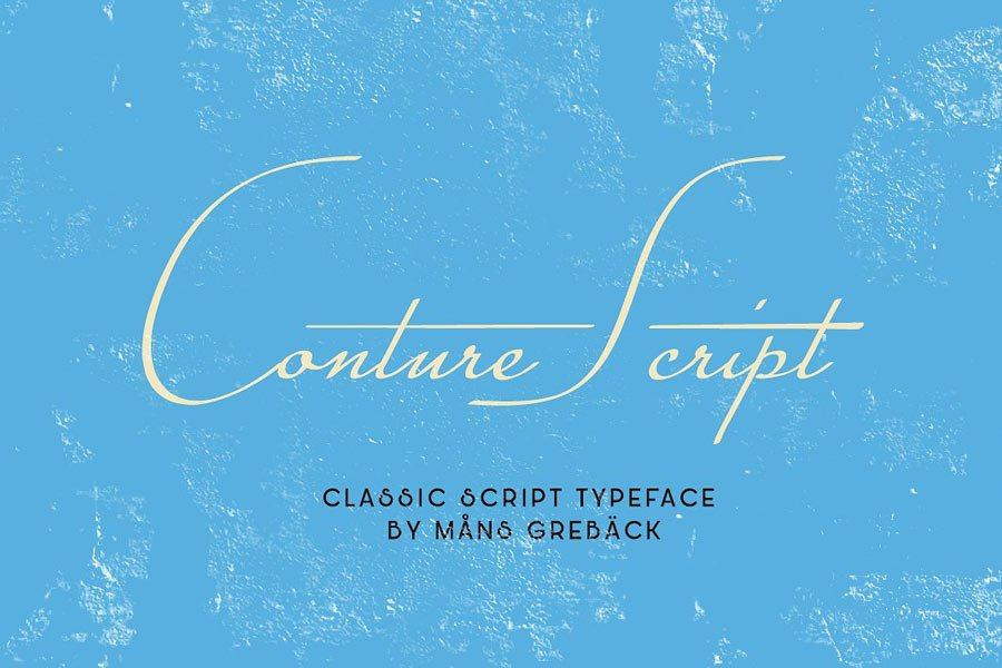 Conture Script