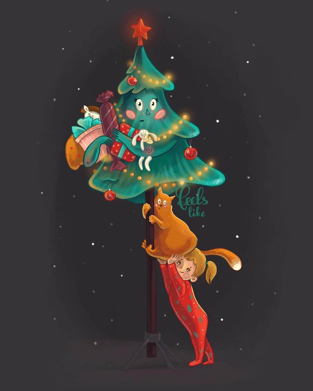 Christmas Tree by Feels like via Instagram