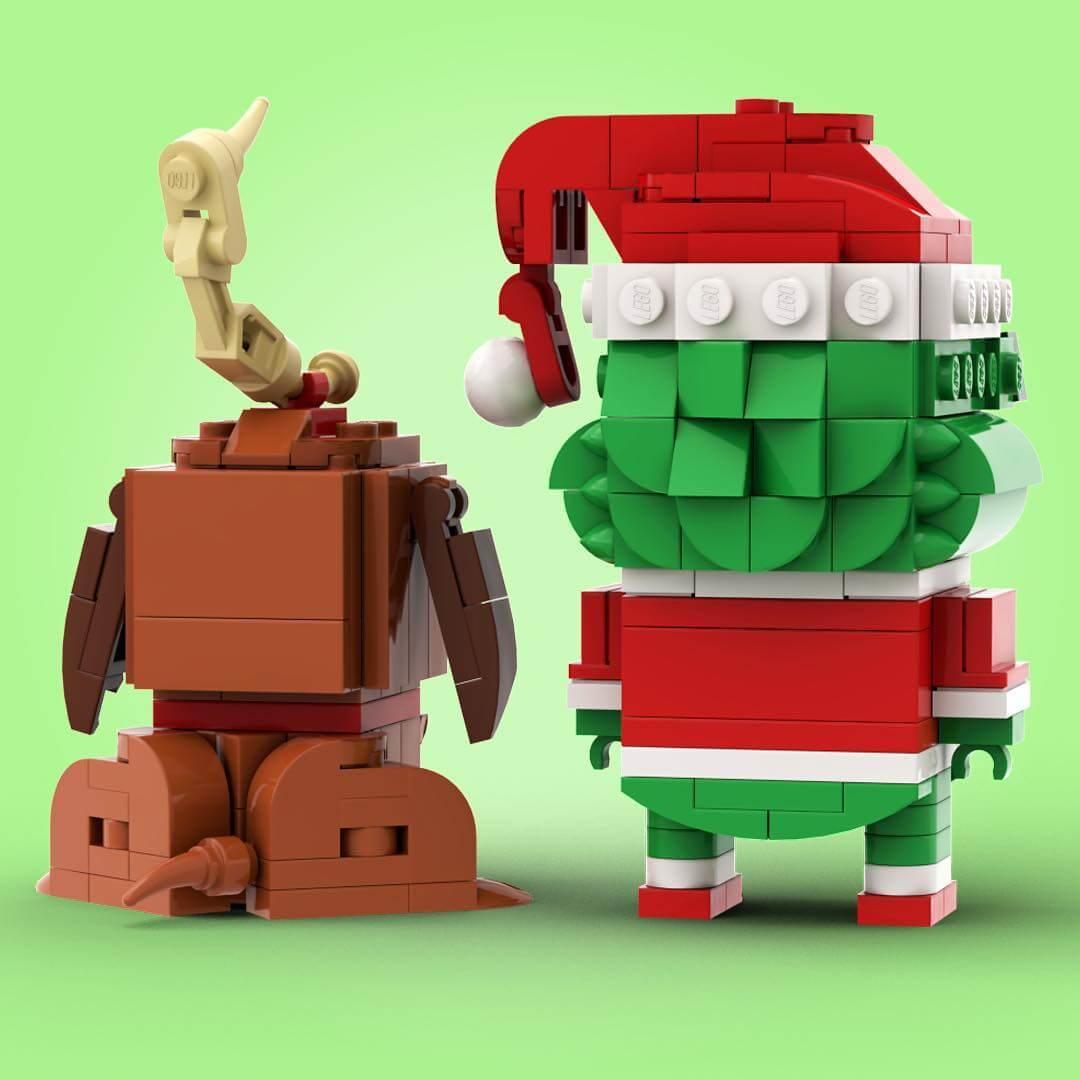Lego Grinch by Stormythos via Instagram